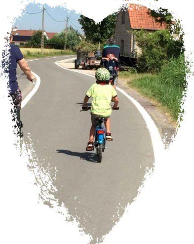fiets en lars